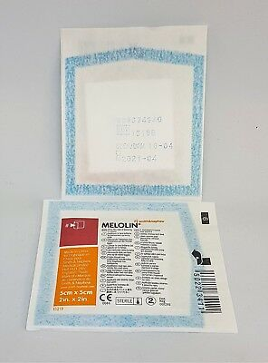 Melolin | Packs Of 5 | All Sizes | Triple Layer Wound Dressing | Uk Pharmacy |