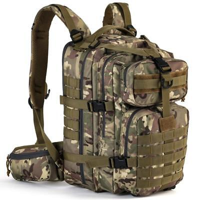 Bug Out Bag Military Tactical Backpack Assault Army Molle Hiking Camping Pack