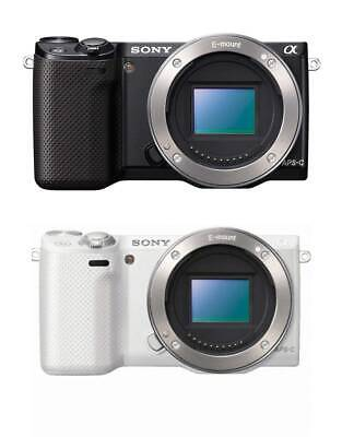 Sony NEX-5R/B Compact Digital Camera White Body only(No battery&No Lens) USED