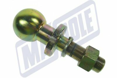 50Mm Tow Ball Pin 22Mm Short Threaded 1250Kg Load Quad Tractor Mp48122 Maypole