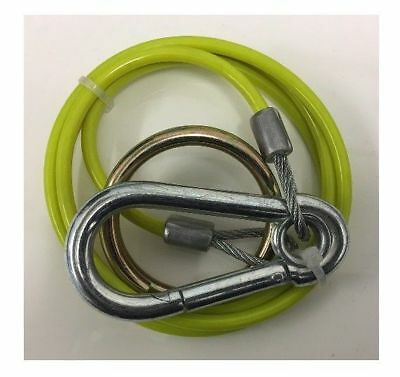 Breakaway Cable Yellow With Burst Ring For Trailer And Caravan Mp5015B Maypole
