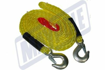 4M Meters 4000Kg Tow Rope With Forged Hooks Breakdown Tow Strap Mp6097 Maypole