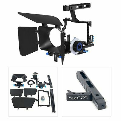 Metal Handle Rig Stabilizer Video Camera Cage for DSLR A7 A7R A7S A7SII A7RII