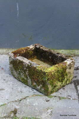Antique Reclaimed Weathered Stone Trough