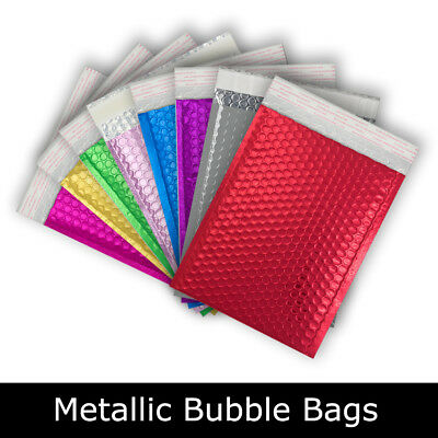 Best Quality Metallic Bubble Colored Envelopes Bags Available in all Sizes