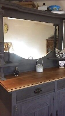 antique Shabby chic Victorian Annie Sloan painted Chiffonier/ Sideboard