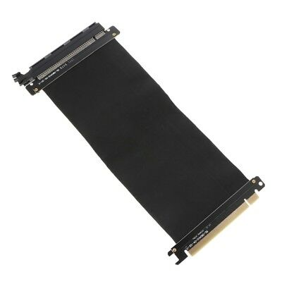 PCI Express 3.0 16x Flexible Cable Extension Port Adapter Riser Card High Speed