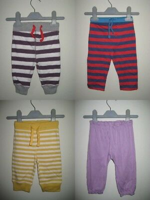 New Baby Boden Essential Jersey Cotton Joggers Trousers 0-12 months