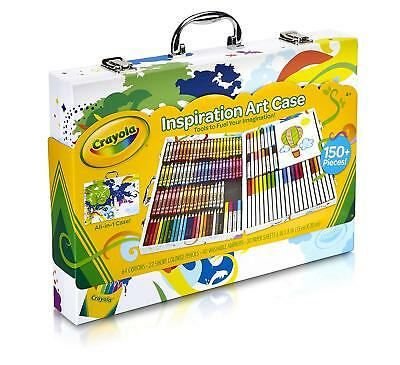 Crayola Inspiration Art Case: 150 Pieces, Art Set, Gifts for Kids, Age 4, 5, 6