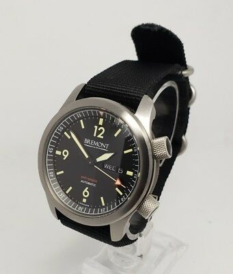 Bremont U2/SS Pilots B&P 2012 43mm Men's Steel Watch