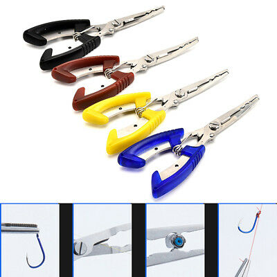 Stainless Fishing Plier 15.5Cm Scissor Line Cutter Remove Hook Fishing Tackle 0c