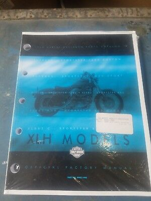 1999 XLH Sportster Models Harley Davidson Parts Catalog 99451-99B New