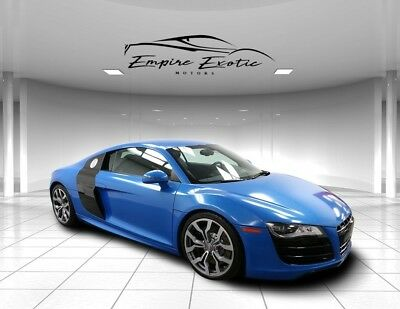 2010 R8 5.2 V10 Manual Wrapped, Needs Nothing, 38K 2010 Audi R8, 5.2L, 6-Speed,Loaded,Carbon,Great Options,Garage Kept,Ship Also