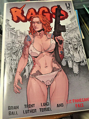 RAGS #1 Scarce  Self-Published NM Censored Super Rare