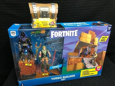 Fortnite Toys - Turbo Builder Set with 2 Figures + Loot Chest - SHIPS TODAY!