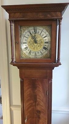 Grandmother Clock, lovely. Westminster chimes. Local Goodfellows of Wadebridge