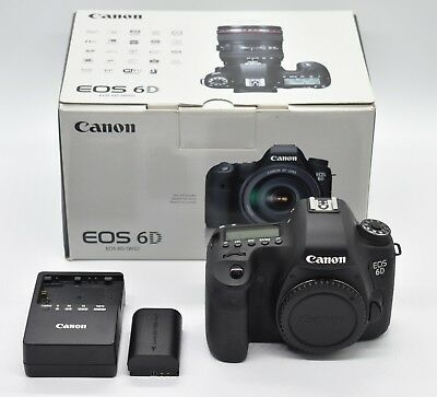Canon EOS 6D 20.2MP Digital SLR Camera Body Only