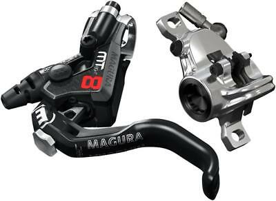 Magura MT8 Pro Disc Brake and 1-Finger Lever, Front or Rear with 2000mm Hose