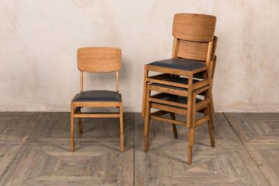 Oslo Stacking Chair Vintage Style Stackable Chair Ben Style Dining Chair