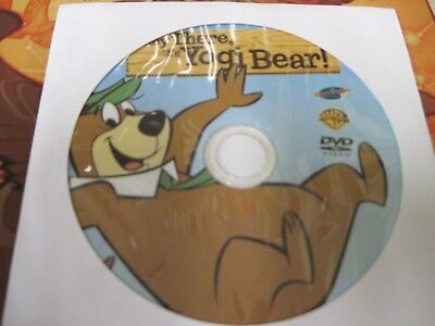 Hey There, It's Yogi Bear! (DVD) Disc Only