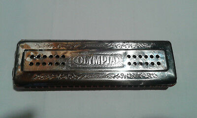 HARMONICA  OLYMPIA , vintage MADE IN GERMANY