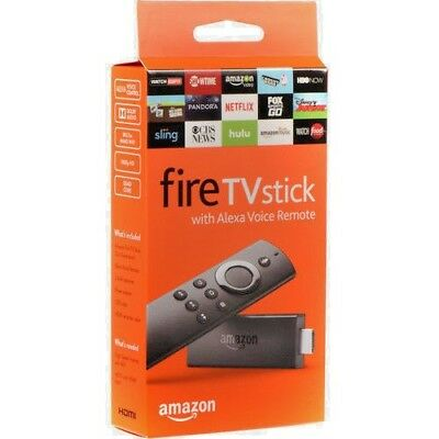 Amazon Fire TV Stick Firestick with Alexa Voice Remote Streaming 2nd Gen - NEW!