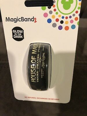 New Disney House Of Magic YesterEars Magic Band MagicBand 2 Limited Release