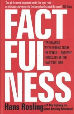Factfulness by Hans Rosling NEW Hardback