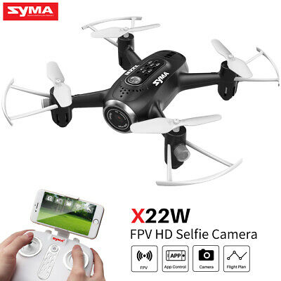 SYMA X56W Wifi Camera Drone FPV Real-time Set Height Quadcopter 2 Batteries Xmas
