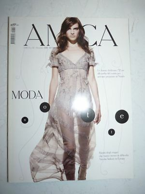 Magazine mode fashion AMICA Italia with missing pages #12 dicembre 2010
