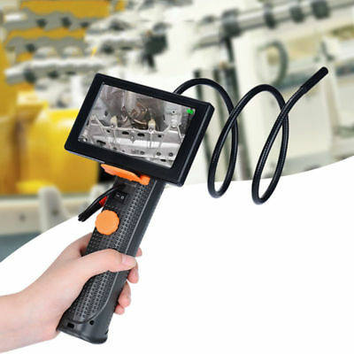 "4.3"" Monitor+ 8.5mm Digital Video Inspection Borescope Camera Endoscope Cam UK"