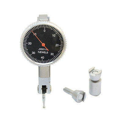 ".008"" Dial Test Indicator Graduation .0001'' Jewels Black Face Mechanic Scale"
