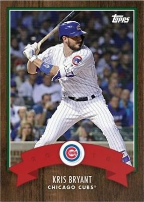2018 Topps Advent Calendar Card Kris Bryant # 14 Chicago Cubs - Only 641!