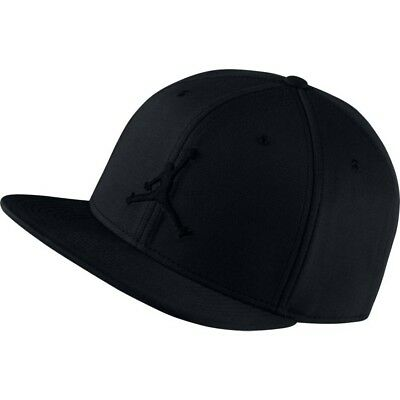 best sneakers 8a943 b2560 Nike Air Jordan Jumpman Cap Black Hat Snapback Basketball Summer Baseball