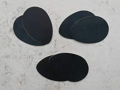 Self-Adhesive Anti-Slip Stick on Shoe Grip Pads Rubber Soles **1st Class post**