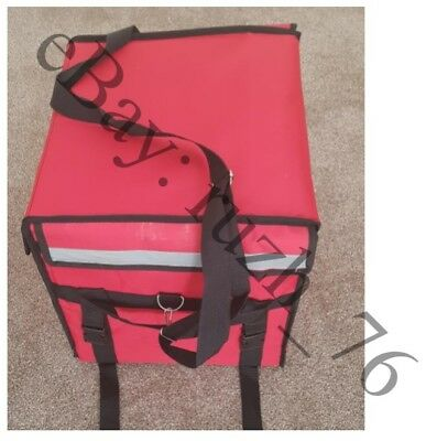 45L red delivery bag for food delivery