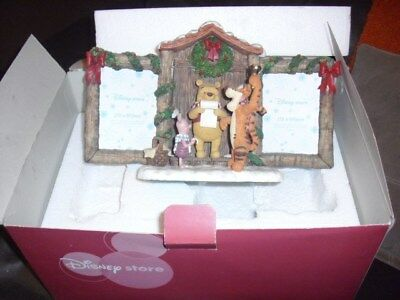 Disney Store Winnie the Pooh and Friends Caroling Picture Frame