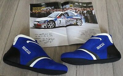 Sparco Italy FAST SL-7C Blue Racing Shoes (with FIA homologation)