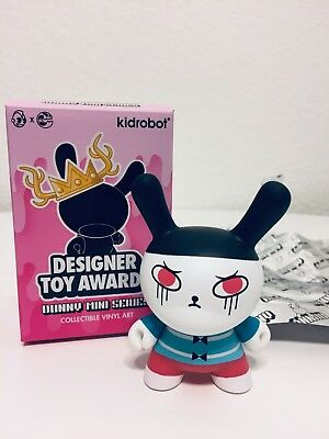 """Kidrobot Dunny-2017 Designer Toy Awards """"Trouble Maker"""" By Andrea Kang"""