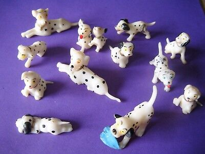 101 dalmation plastic models. as seen in picture 1970's