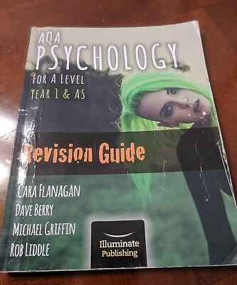 AQA Psychology for A Level Year 1 & AS - Revision Guide by Cara Flanagan, Rob...