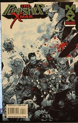 The Punisher X Mas One -Shot Variant Cover First Print Marvel Comics (2009)