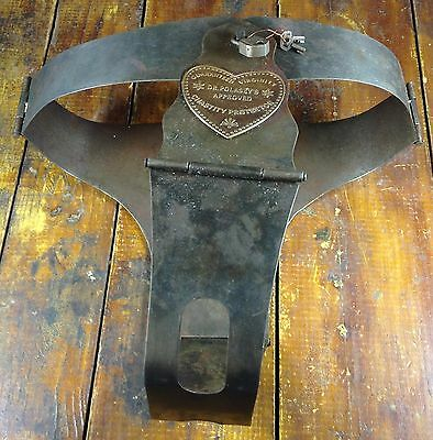 Old West Primitive Chastity Belt Guaranteed Dr Polasky's Virginity Sex Protector