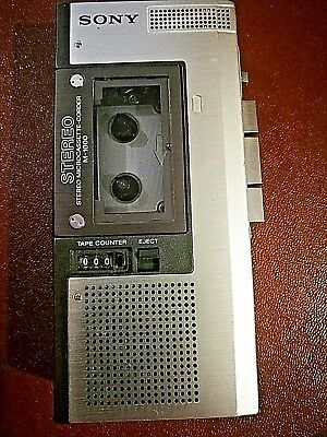 Sony M-1000 Stereo Microcassette-corder - Dictaphone