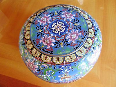 Very Beautiful and Large Chinese Cloisonne Bowl