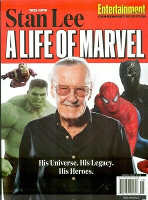 1922-2018 Stan Lee A Life of Marvel 2018 Entertainment Special