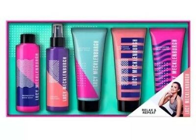 Lucy Mecklenburgh Relax & Repeat Gift Set New