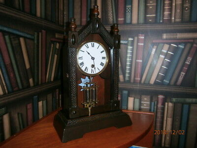 Antique Bracket Clock by Junghans