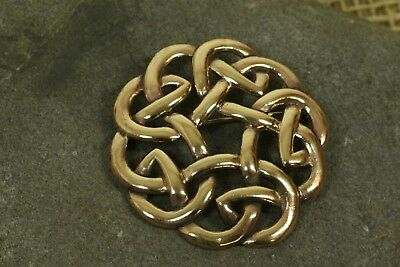 Brooch Fibel Bronze Celtic Knots Big Celtics Bronzeschmuck Pendant