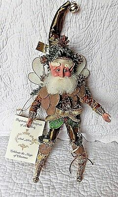 MARK ROBERTS Christmas 13 in WHISPERING PINE Fairy Doll figure + tag Ltd Edition